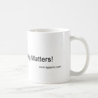 Quando a qualidade importar caneca de café