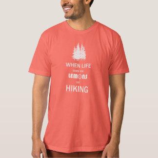 Quando a vida lhe der a caminhada dos limões (o t-shirts