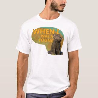 Quando eu era um Warthog novo! Camiseta