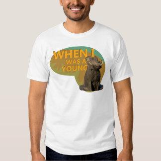 Quando eu era um Warthog novo! Camisetas