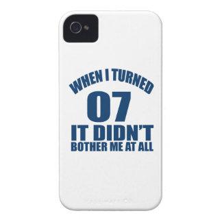 Quando eu girei 07 não fez Bothre mim de todo Capa Para iPhone 4 Case-Mate