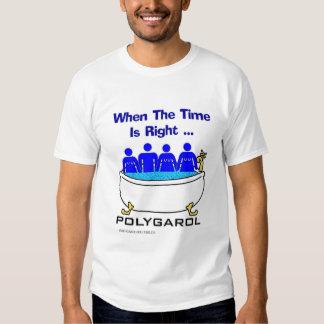 Quando o tempo for direito tshirts