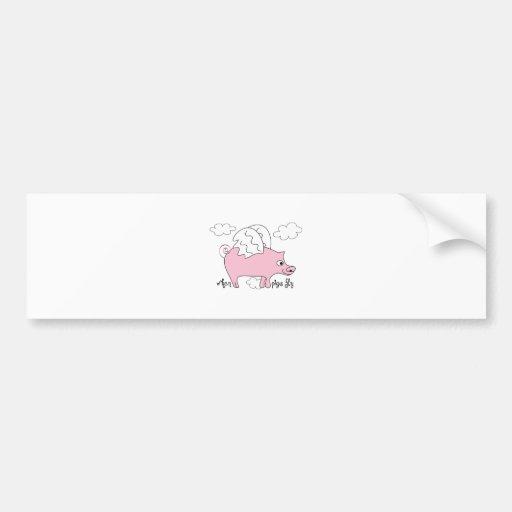 Quando os porcos voarem adesivos