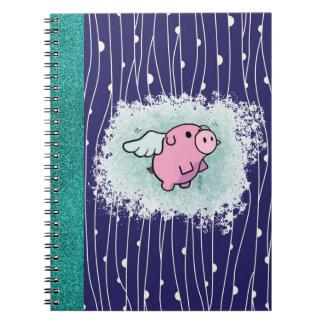 Quando os porcos voarem o caderno