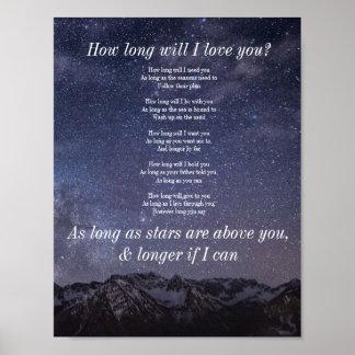 Quanto tempo eu te amo? poster