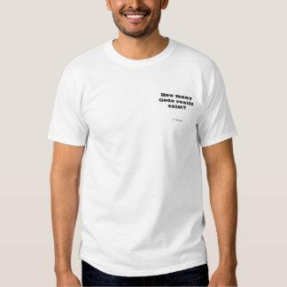 Quantos deuses existem realmente? camisetas