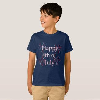 Quarta camisa feliz dos miúdos