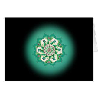 Quarta etapa ao cartão da alma com quarta mantra
