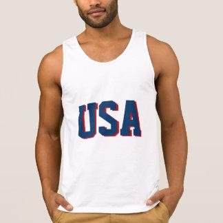Quarto do branco do roupa da camisa | EUA da