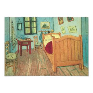 Quarto em Arles por Van Gogh, mudança de endereço Convite