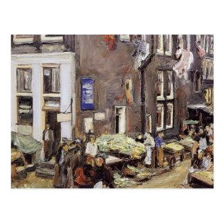 Quarto judaico máximo de Liebermann- em Amsterdão Cartão Postal