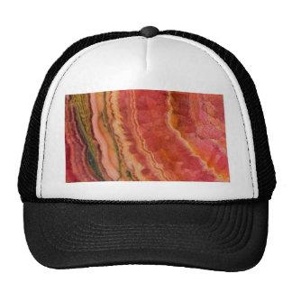 Quartzo listrado Salmon Boné