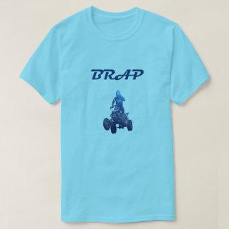 Quatro camiseta do cavaleiro BRAP do veículo com