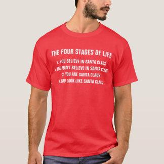 Quatro palcos da vida - camisa engraçada do Xmas