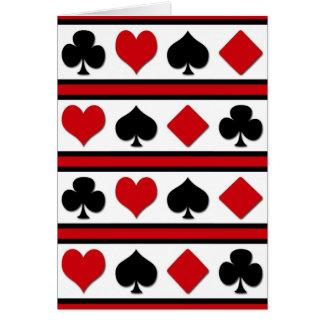 Quatro ternos do cartão