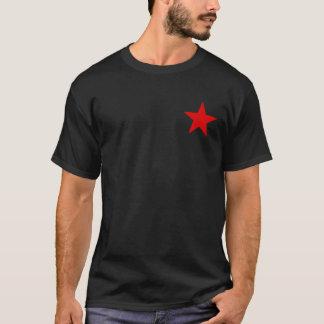 Que a terra o livre!? Estrela vermelha Camiseta