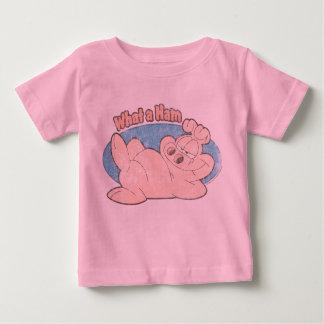 Que camisa do bebê do presunto