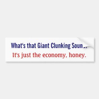 Que é esse som clunking gigante? adesivos