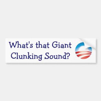 Que é esse som clunking gigante? adesivo para carro