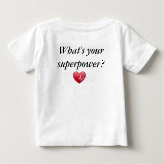 Que é sua superpotência? caçoa a camisa de t