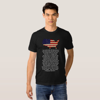 Que faz um excelente da nação? t-shirts