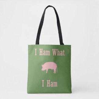 Que o bolsa do país do amante do porco do presunto