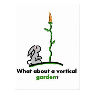 Que sobre um jardim vertical? cartão postal