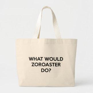 Que Zoroaster faria? Bolsa Tote Grande