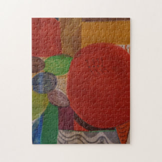 quebra-cabeça 11x14 com design abstrato