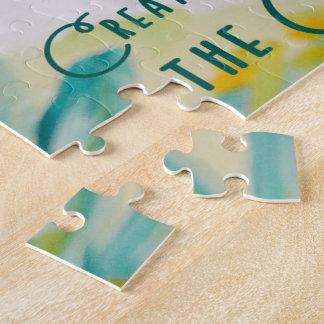Quebra-cabeça A faculdade criadora vem do criador