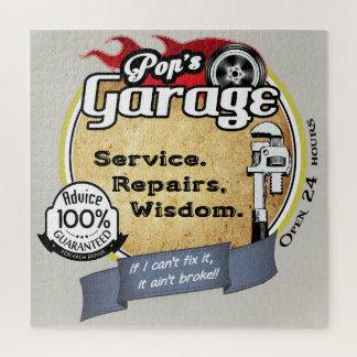 Quebra-cabeça A garagem do pop