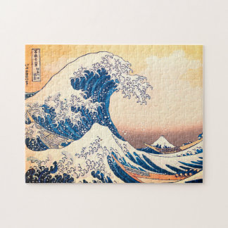 Quebra-cabeça A grande onda