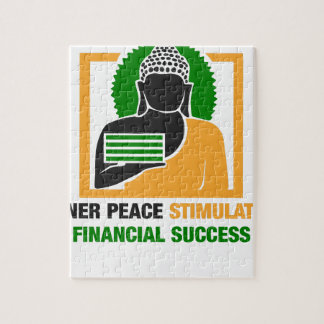 Quebra-cabeça A paz interna estimula o sucesso financeiro