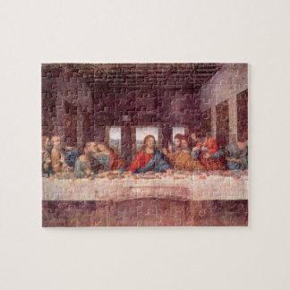 Quebra-cabeça A última ceia por Leonardo da Vinci, renascimento