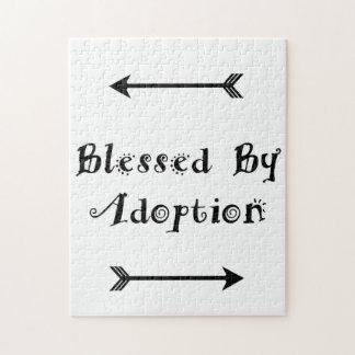 Quebra-cabeça Abençoado pela adopção - assistência social
