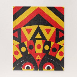 Quebra-cabeça aborígene tribal
