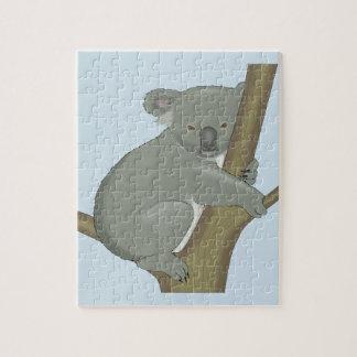 Quebra-cabeça Abraço do Koala