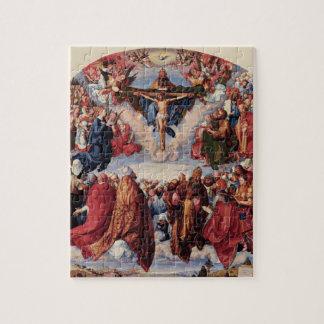 Quebra-cabeça Adoração da trindade por Albrecht Durer, 1511