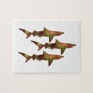 Quebra-cabeça Agitação do tubarão