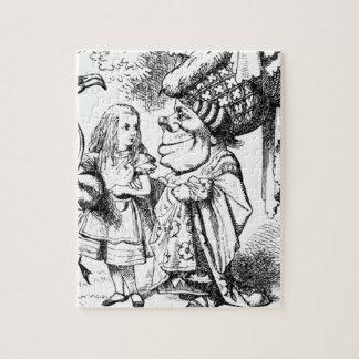 Quebra-cabeça Alice e a rainha vermelha