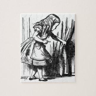 Quebra-cabeça Alice encontra uma porta