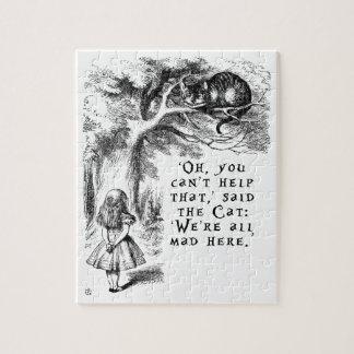 Quebra-cabeça Alice no país das maravilhas - nós somos tudo