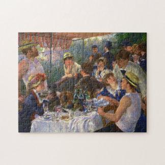 Quebra-cabeça Almoço de Renoir das belas artes do partido do