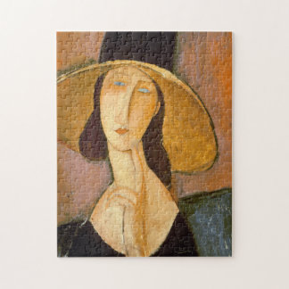 Quebra-cabeça Amedeo Modigliani - cabeça de uma mulher