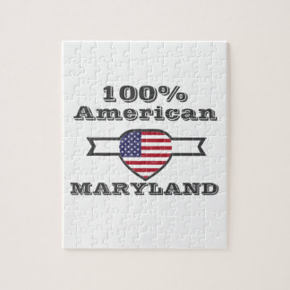 Quebra-cabeça Americano de 100%, Maryland