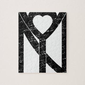 Quebra-cabeça Amor de NY New York