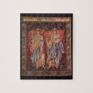 Quebra-cabeça Anjos do vintage, Angeli Laudantes por Burne Jones
