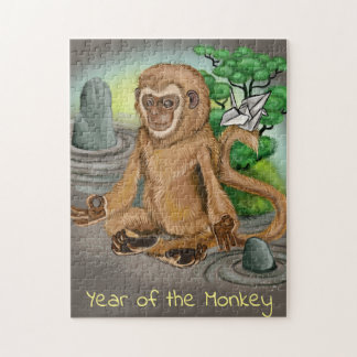 Quebra-cabeça Ano chinês do zodíaco do macaco