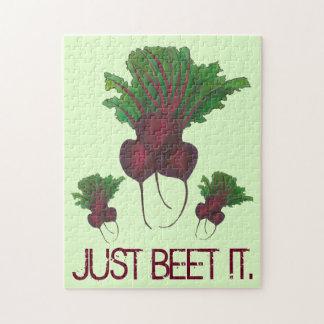Quebra-cabeça Apenas beterraba (batida) ele vegetariano