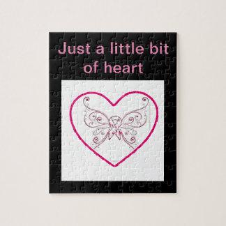 Quebra-cabeça Apenas um pouco do coração